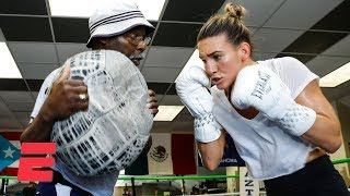 Boxer Mikaela Mayer thriving thanks to unlikely pairing with trainer Al Mitchell | Top Rank Boxing