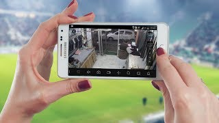 HOW TO CONNECT CCTV TO MOBILE iPhone or android || Hikvision ||