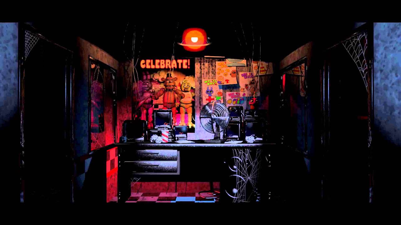 Five Nights At Freddys Office Ambience For 1 Minute Youtube