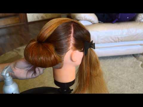 Причёска на 1 сентября и на торжественные мероприятия !