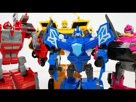 Miniforce Robot Transforming and Dinosaurs - DuDuPopTOY