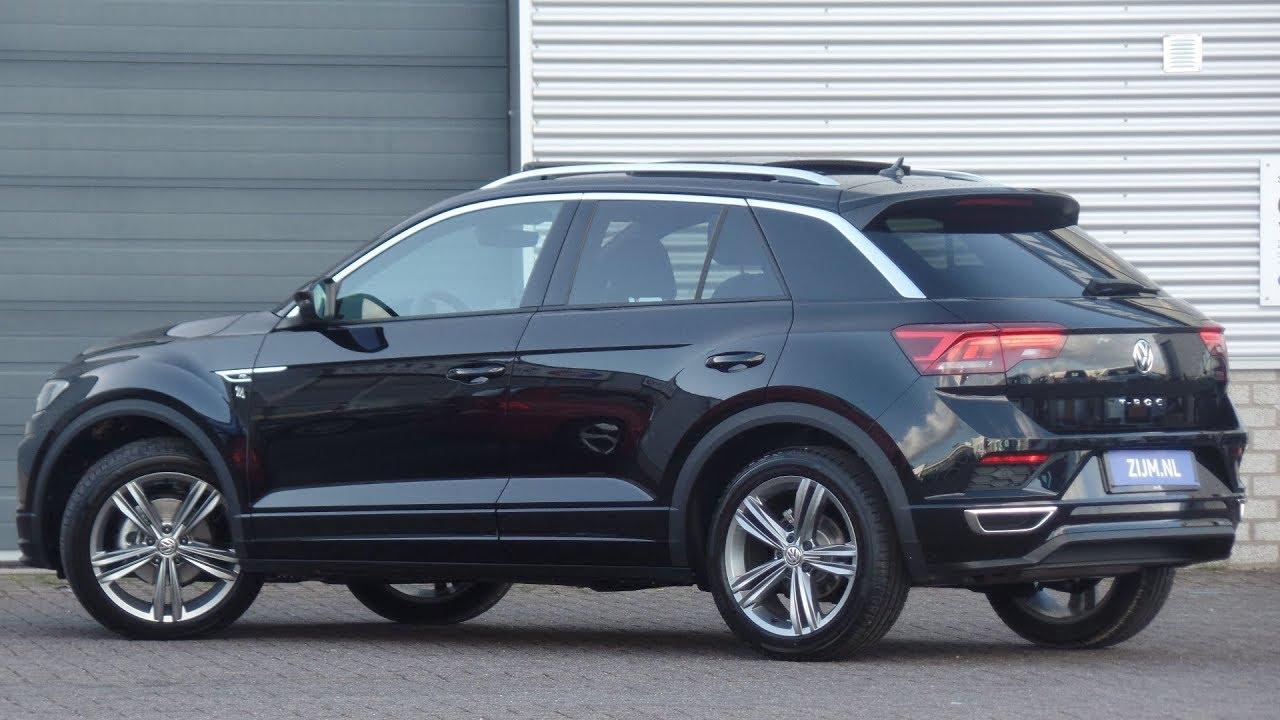 Volkswagen New T-Roc R-Line 2019 Deep Black Pearl 18 Inch -8126