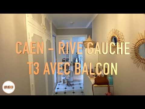 ACI - Caen Rive Gauche - T3 avec balcon