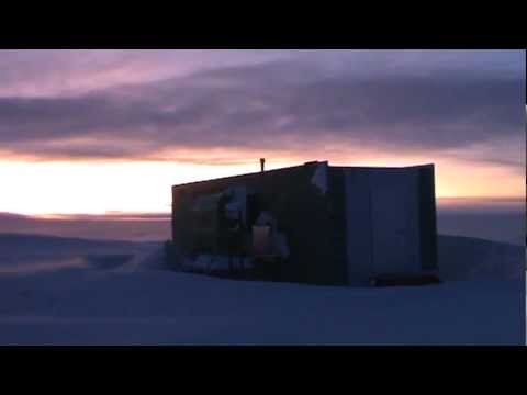 Scott Base square frame , Antarctica