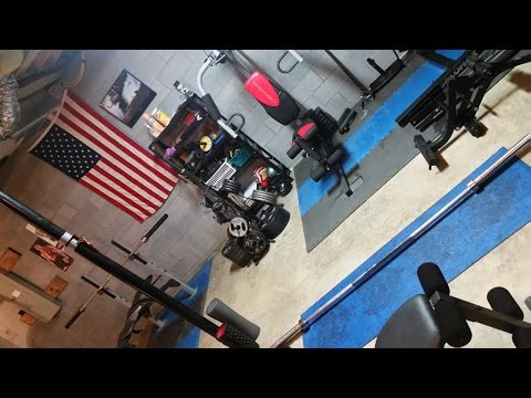 home gym on the cheap tour of my home gym and good ideas