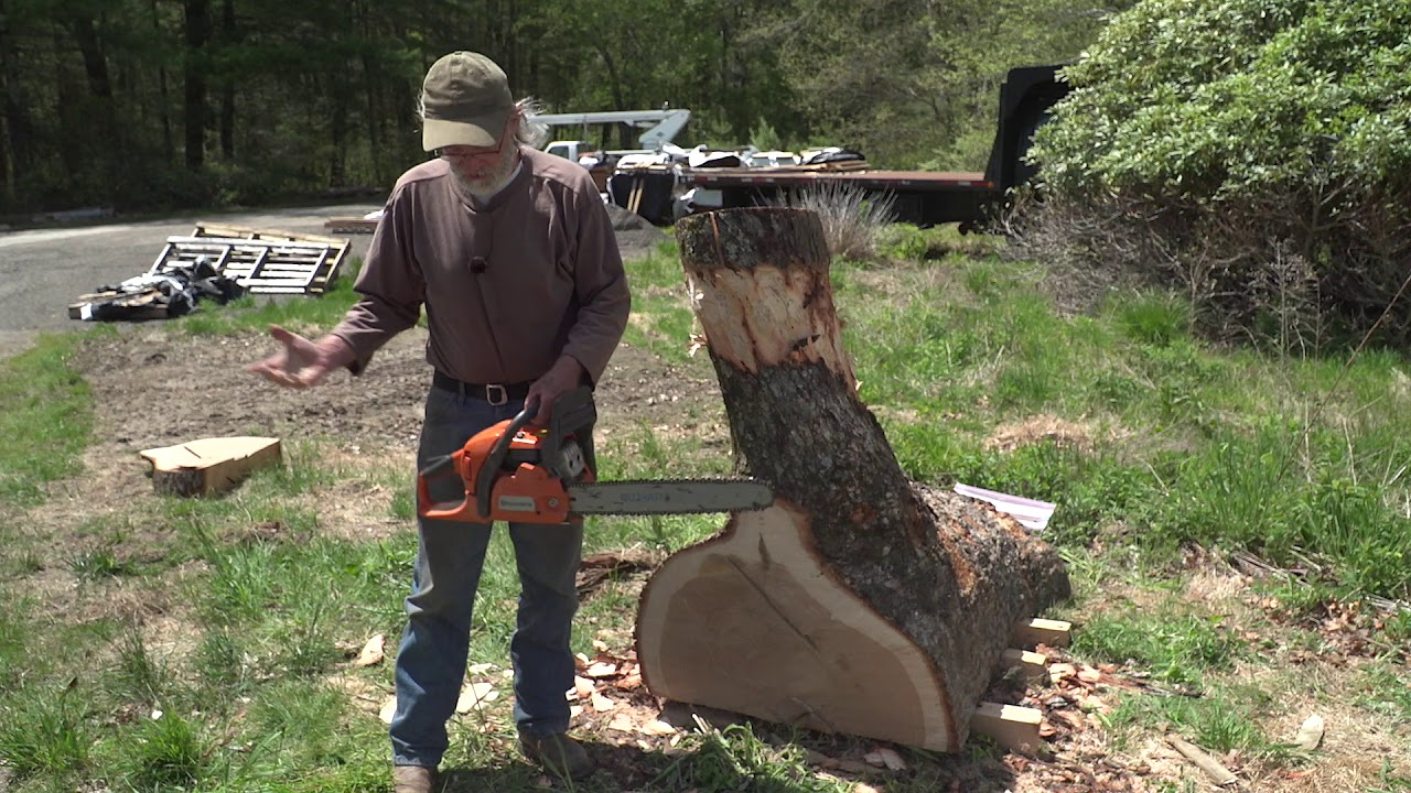 TIPS Season 3 - Episode 5: How to sharpen and rip with a chainsaw