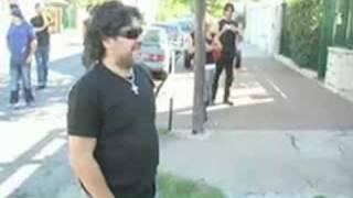 """Manu Chao canta """"La vida tombola"""" per Maradona"""