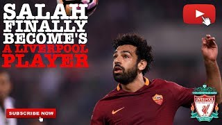Liverpool fc transfer news - mo salah deal done.