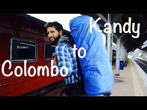 Zugfahrt von Colombo nach Kandy | Sri Lanka #VLOG52