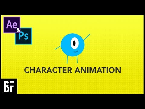How To Create And Animate Basic Characters In Photoshop And After Effects