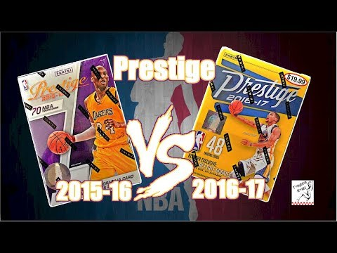 2015-16 Panini Prestige Basketball Vs 2016-17 Panini Prestige Basketball