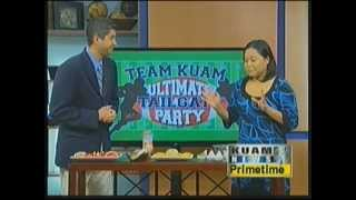 Kuam Ultimate Tailgating Party: Apple Slices And Cheese Balls
