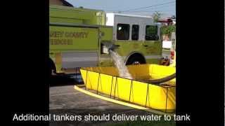 Water Supply Training - Single Portable Tank Operations