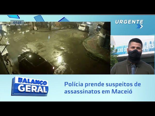 Operação Hoje: Polícia prende quatro suspeitos de assassinatos em Maceió