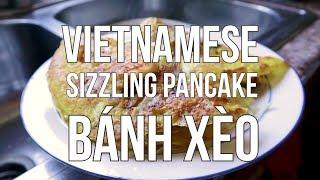 Vietnamese Sizzling Pancakes (Banh Xeo)