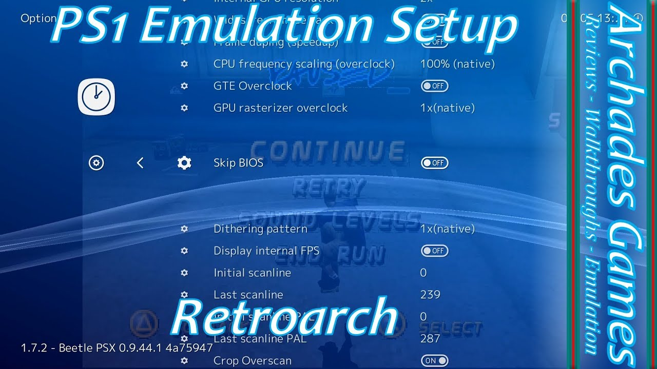 How To Setup Retroarch for PS1 Emulation