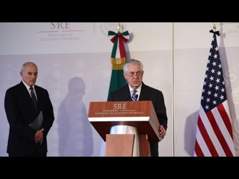 Tillerson: Mexico and US will have differences