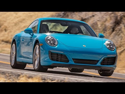 2017 Porsche 911 Carrera S Hot Lap! - 2016 Best Driver