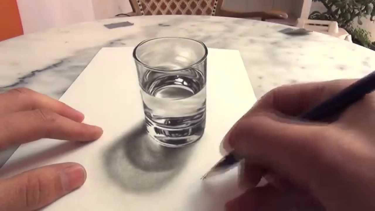 3dトリックアートの書き方凄い Youtube
