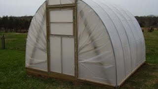 Build A Hoop House Greenhouse