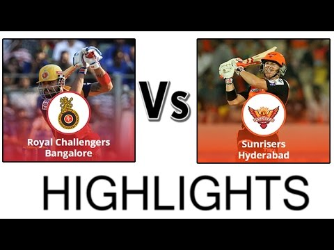 Royal Challengers Bangalore vs Sunrisers Hyderabad IPL FINAL 2016-Highlights