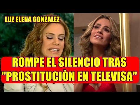 LUZ ELENA GONZALEZ titubea AL HABLAR de TELEVISA y acepta que LAS ACTRICES SON UN PRODUCTO