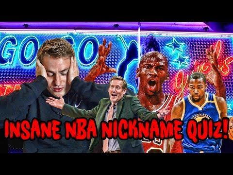 3 NEW NBA NICKNAME QUIZZES! Mike Korzemba EXPOSED?