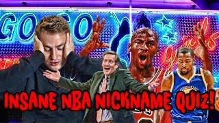 3 NEW NBA NICKNAME QUIZZES! Mike Korzemba EXPOSED?
