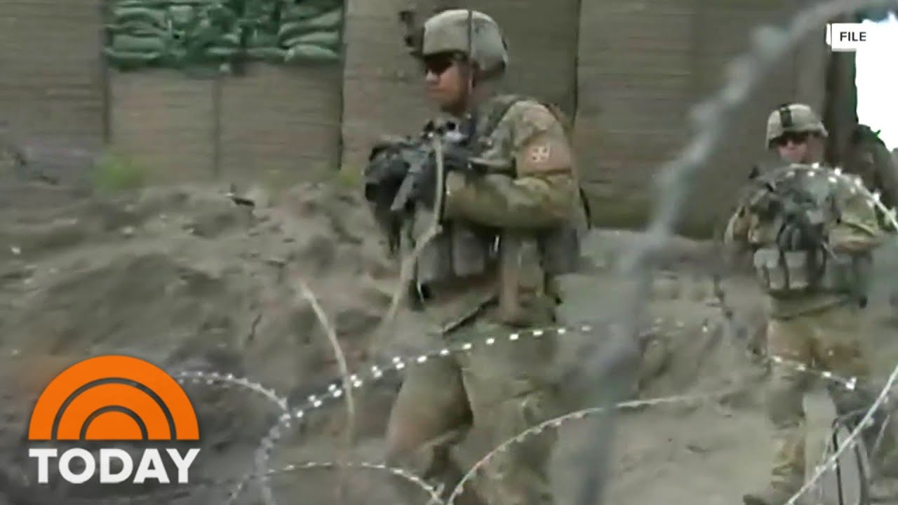 Download Firefight Erupts Between Afghan Troops And Taliban After US Withdrawal
