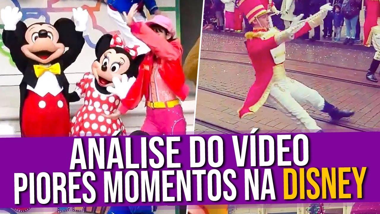 Análise do Vídeo: Piores Momentos Na Disney 2