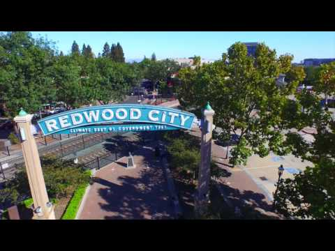 Redwood City, CA by Douglas Thron drone real estate videos