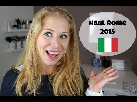 Haul Rome ! (Mode + Make-up)