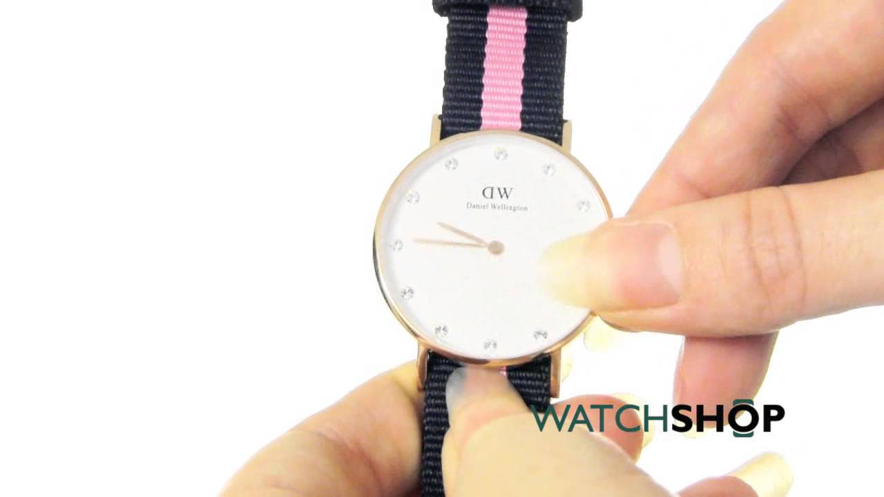 8d45fb9621d6 Daniel Wellington Ladies  Classy Winchester 34mm Watch (0952DW) - YouTube