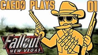 """By Gum, That's an Idea!"" - Caedo Plays Fallout: New Vegas #01 (Buckaroo Build)"
