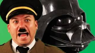 Darth Vader vs Hitler. Epic Rap Battles of History thumbnail