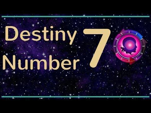 Destiny Number 7: Expression Number 7