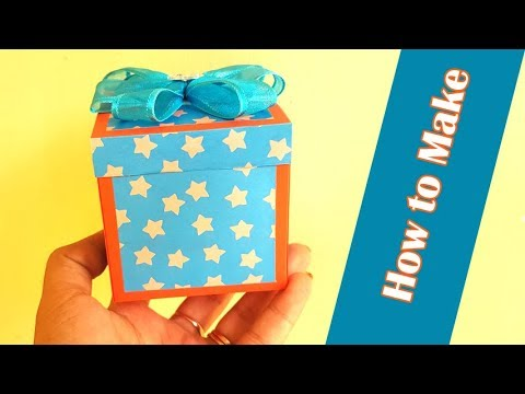 How to Make DIY Gift Box for Birthday Presents and Surprise - DIY Paper Crafts