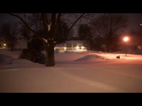 Snowzilla 2016 Timelapse - East Coast Blizzard (Reston, VA)