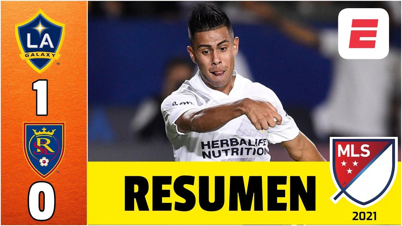 LA Galaxy 1-0 Real Salt Lake. EFRAÍN ÁLVAREZ anotó golazo en su regreso a Los Angeles Galaxy | MLS