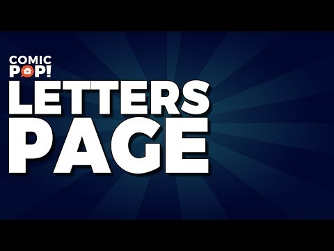 Letters & Comics | Letters Page