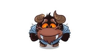 Прикольные бык