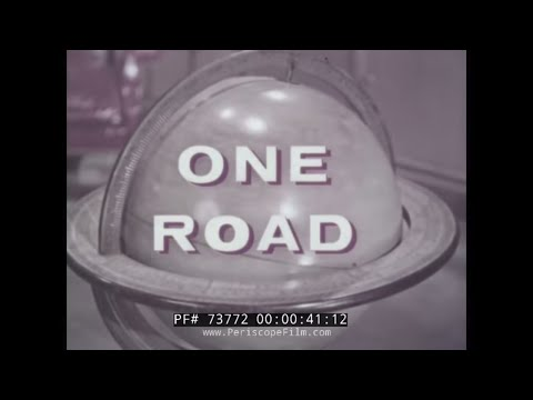 "FORD MOTOR COMPANY ""ONE ROAD"" 1957 EUROPE TO ASIA TRIP  73772"