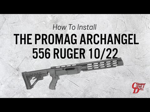 How to Install the ProMag Archangel 556 Ruger 10/22 Stock in Minutes
