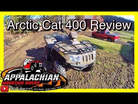 Arctic Cat 400 4x4 Walkaround