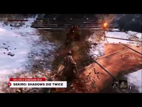 SEKIRO:SHADOWS DIE TWICE ゲームプレイ&インタビュー - gamescom 2018