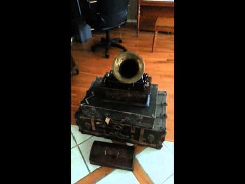 Antique Edison Home Phonograph ca. 1905-1906