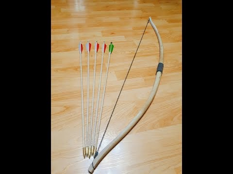 Primitive Archery Wooden Bow Making Workshop