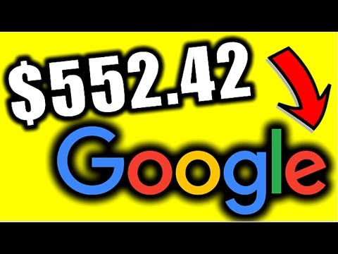How To Make $552.42 Using GOOGLE Search (With REAL Proof!)