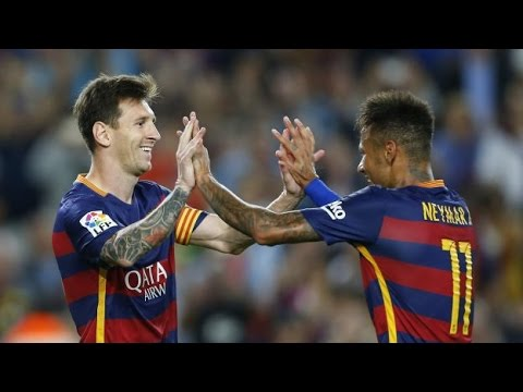 Barcelona vs Levante 4-1 All Goals & FULL HIGHLIGHTS (20/09/15) HD