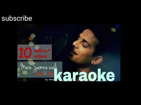 Mere Samne Wali Khidki Me Karaoke Aashish Patil